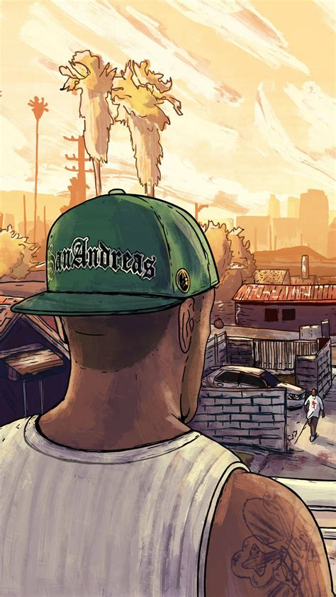 gta san andreas artwork sony xperia xxzz