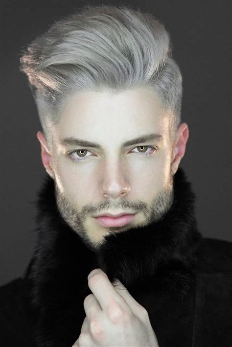 Latest Hair Trend Grey Hair And Pearl White For Men And Women