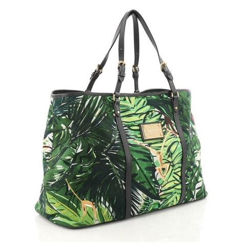 louis vuitton ailleurs cabas limited edition printed canvas gm  stdibs