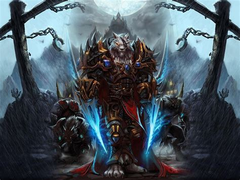Wallpaper World Of Warcraft, Worgen, Character, Arm