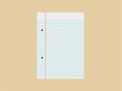 Animated Paper Notebook Clipart Giff Animation Clip