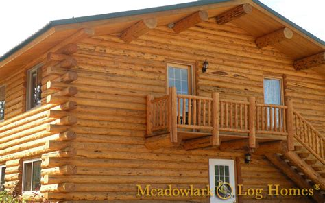 log lodges meadowlark log homes