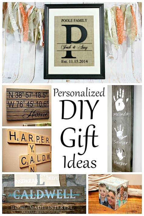 personalized diy gift ideas  easy crafts