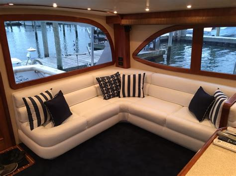 custom boat interiors upholstery long island window