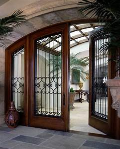 Amazing, House, Design, With, Fabulous, Front, Door, Choice