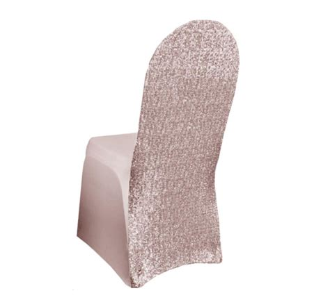 blush sequin spandex chair cover all seasons linen
