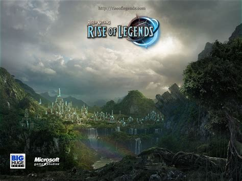 rise of nations rise of legends wallpapers