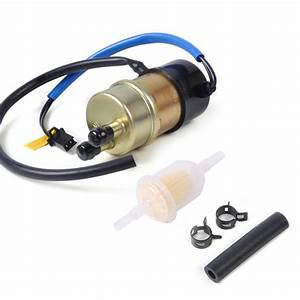 New 12v 60 Lph Fuel Pump Replaces Outlet Diameter 10mm For