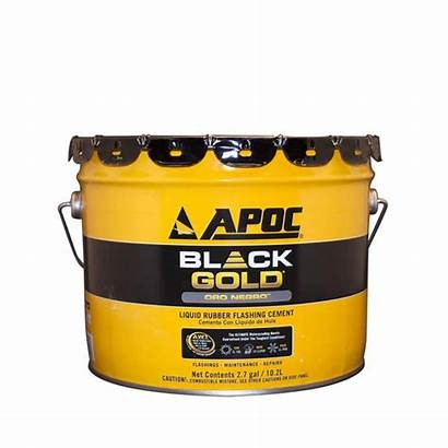 Apoc Liquid Cement Gold Rubber Flashing Roof