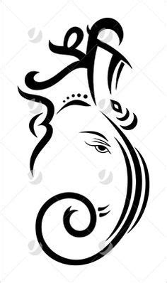 Pics For > Ganpati Images For Drawing | stamp ideas | Pinterest | Ganesha, Ganesh and Drawings