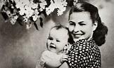 Ingrid Bergman and daughter Pia Lindström   Ingrid bergman ...