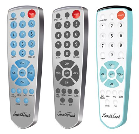 SMOOTH TOUCH REMOTE CONTROL: Discounted TV Remotes
