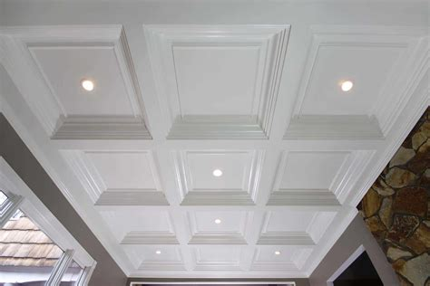 Simple Coffered Ceiling by Coffered Ceiling Systems Easy Coffered Ceiling In A Day