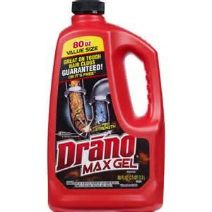 drano max gel clog remover 2 qt walmart com