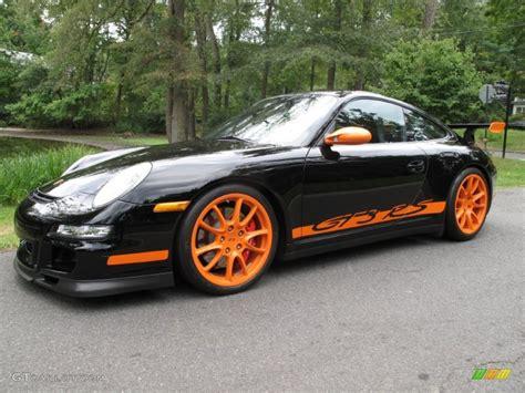 Black Gt3 Rs by 2007 Black Orange Porsche 911 Gt3 Rs 85777520 Gtcarlot