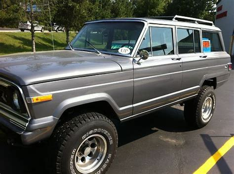 wagoneer jeep lifted find used wagoneer jeep 4x4 lifted suv waggy in cary