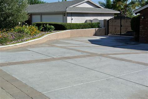 driveway concrete designs concrete driveway