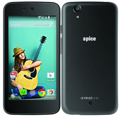 android one spice android one uno mi 498 priced at rs 6999