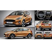 Ford Fiesta Active 2017  Pictures Information & Specs