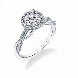 spiral engagement rings sylvie collection With spiral wedding ring
