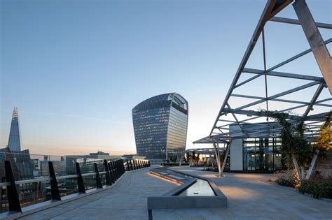 A New Roof Garden Just Opened In The City Of London