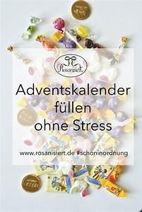 Adventskalender Womit Füllen : adventskalender f llen ohne stress rosanisiert ~ Markanthonyermac.com Haus und Dekorationen