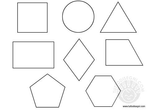 figure geometriche solide da ritagliare figure geometriche da colorare tuttodisegni