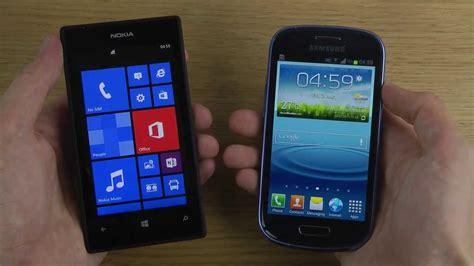 nokia lumia 520 vs samsung galaxy s3 mini which is faster