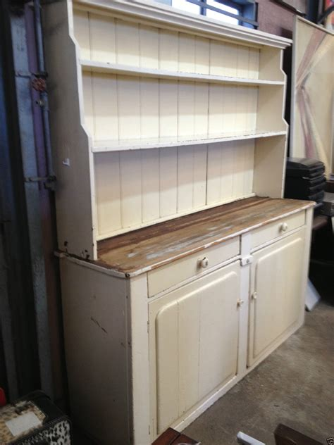 victorian shabby chic rustic country kitchen dresser hutch halsey road recyclers