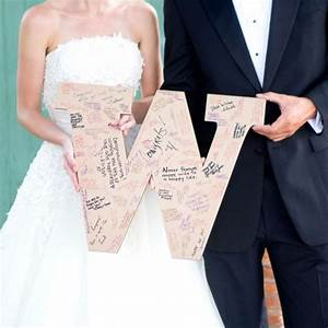 best 25 home wedding decorations ideas on pinterest With monogram guest book letter