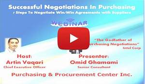 Successful Purchasing Negotiation: How to Become a Pro in ...