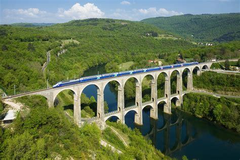 Cizebolozon Viaduct France Double Decker Roadrail