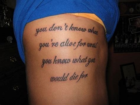 Meaningful Tattoo Quotes And Quotes