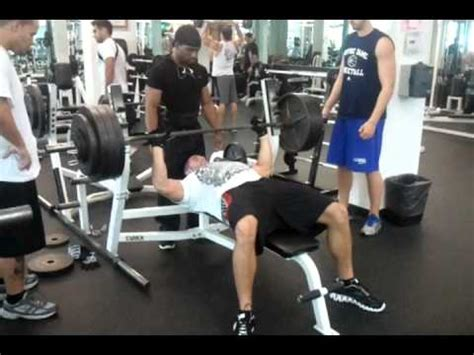 Mike Kalustian 400 Bench Press Youtube