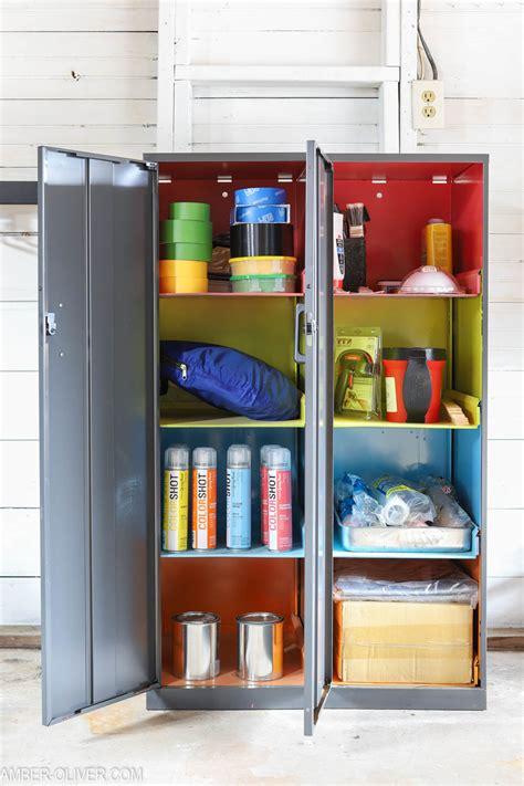 Garage Organization How To by Garage Organization Ideas How To Store Paint Supplies