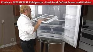 Samsung Refrigerator Not Cooling - Has Frost In Freezer