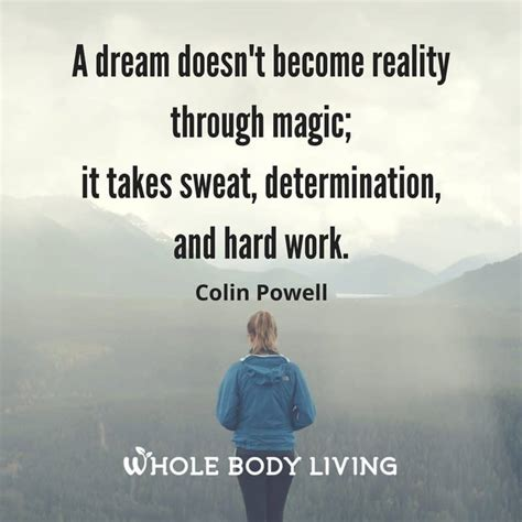 work hard  achieve  dreams  body living