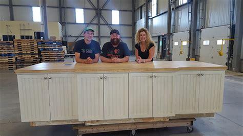 stonewall kitchen donates company retail store fixtures