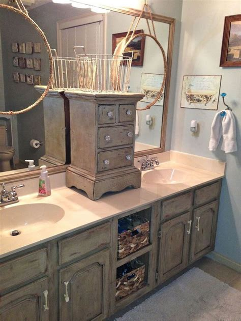 bathroom vanity makeover  annie sloan chalk paint