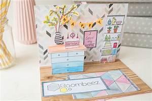 Pop Up Karte Basteln Geburtstag : happy birthday roombeez diy pop up karte leelah loves ~ Frokenaadalensverden.com Haus und Dekorationen