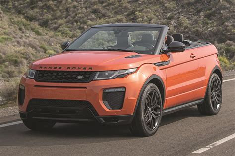 2017 Land Rover Range Rover Evoque Suv Pricing & Features