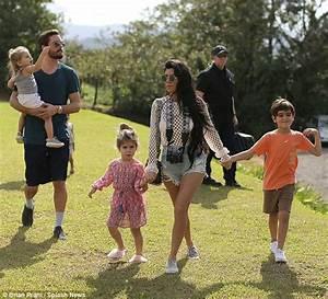 Scott Disick joins Kourtney Kardashian and their kids