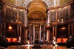 The Prunksaal, the centre of the old imperial library, now ...