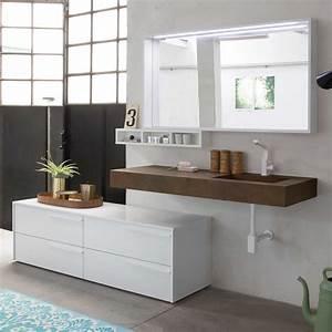 Badmöbel Mit Waschbecken : n65 atlantic badm bel mit integriertem waschbecken arredaclick ~ Eleganceandgraceweddings.com Haus und Dekorationen