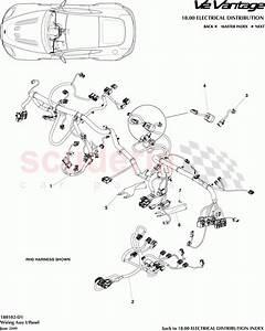Aston Martin V12 Vantage Wiring Assembly I    Panel Parts