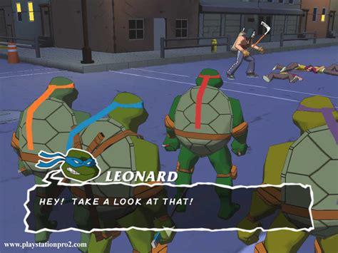 Playstation Pro 20 Teenage Mutant Ninja Turtles