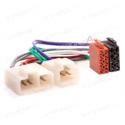 Nissan Cd Radio Wiring Loom Harness Iso Adaptor Cable Car