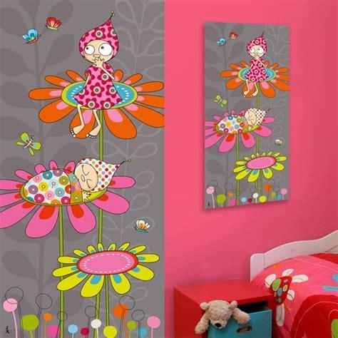 tableau deco chambre fille tableau peinture pour chambre bébé fille chambre idées