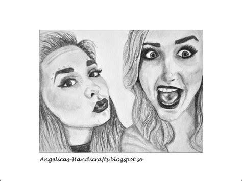 Angelica's Handicrafts Drawing Best Friends