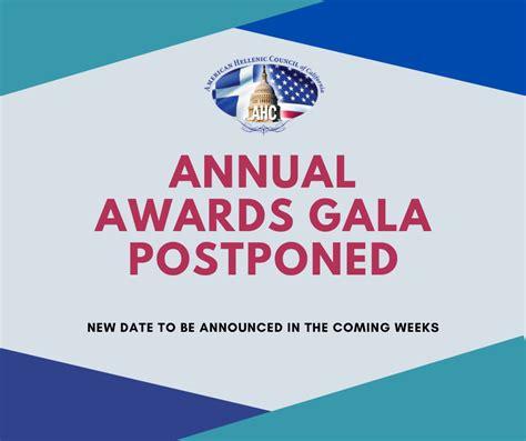 46TH Annual Awards Gala Postponed - American Hellenic ...